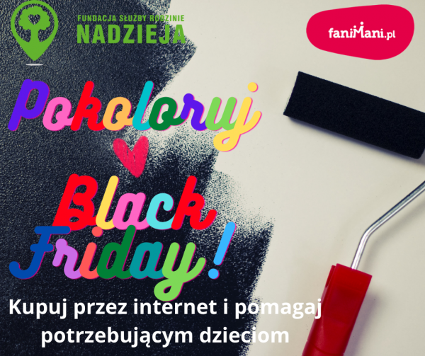 Pokoloruj Black Friday